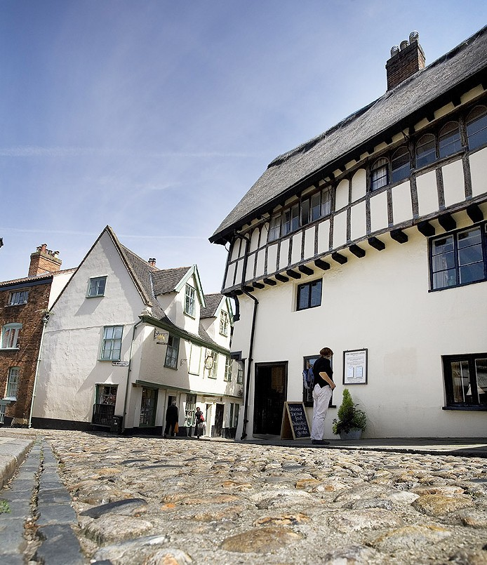 Enjoy wandering the medieval streets of Norwich