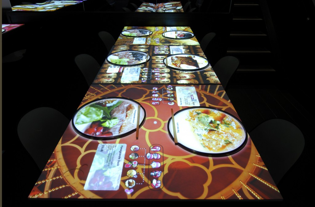 inamo restaurant table