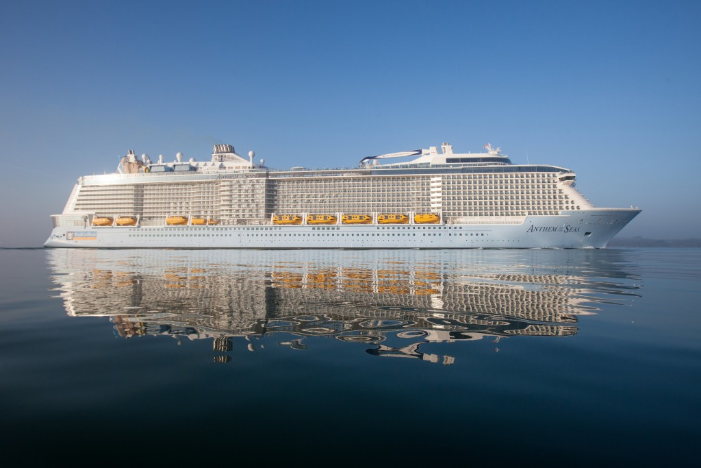 Royal Caribbean''s Anthem of the Seas in all her glory
