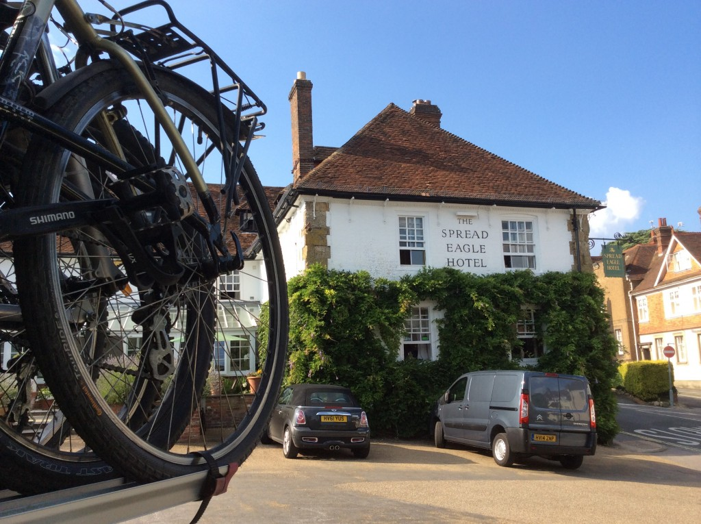 Family cycling in West Sussex and the South Downs