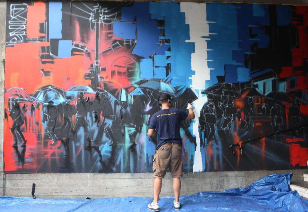 urban weekend graffiti artist