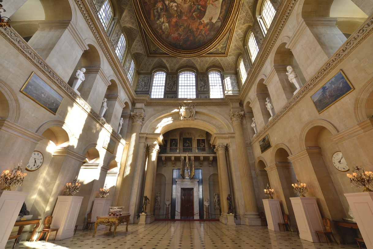 Blenheim palace interior kick back travel for Interior images