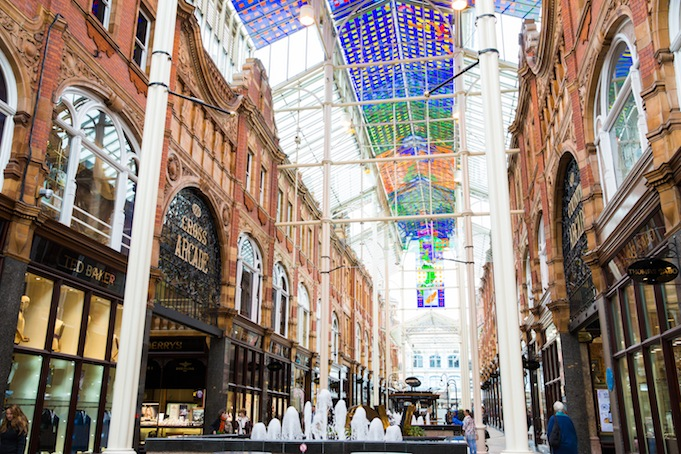 the Victoria Quarter shopping