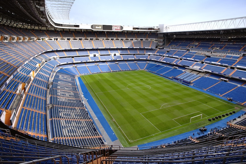 picture of Real Madrid's Santiago Bernabeu
