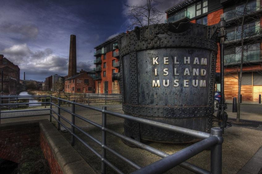 exterior of kelham island museum